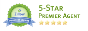 Zillow 5 Star Premier Agent